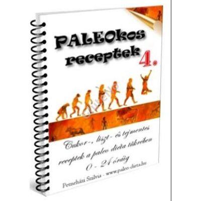 PALEOKOS 4. Receptkártya könyv