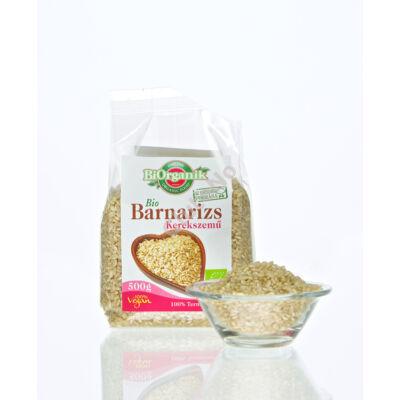 Bio Barnarizs kerekszemű (Biorganik) - 500 g