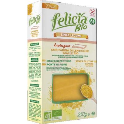 Felicia Bio gluténmentes tészta lasagne - sárgalencse - 250 g